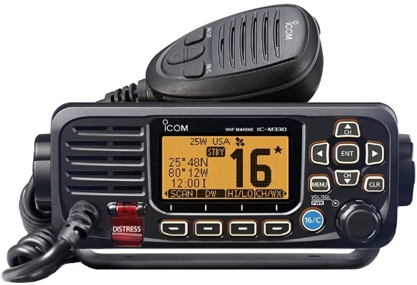 Compact Basic VHF Radio With GPS