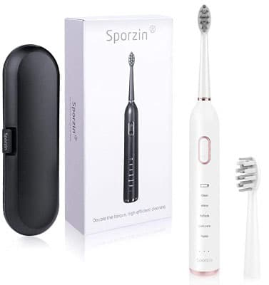 Electric Toothbrush For Braces With Travel Case