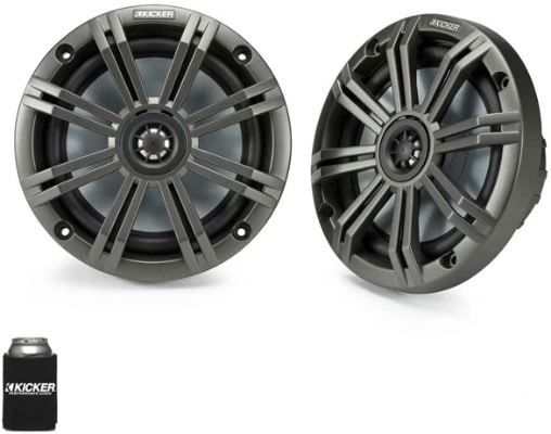 OEM Marine Speakers With Charcoal Grilles