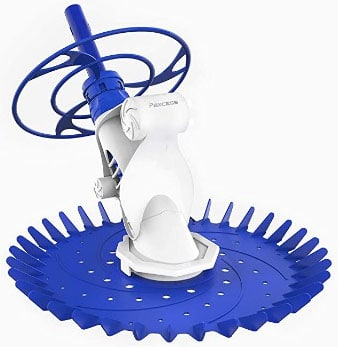 Powerful Suction Pool Cleaner With Pump