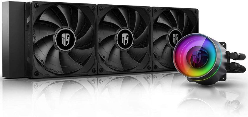 RGB Liquid CPU Cooler With Anti-Leak Technology
