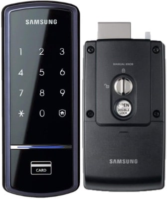 Samsung SHS-1321 Digital Touchscreen, RIM Deadbolt, Keyless