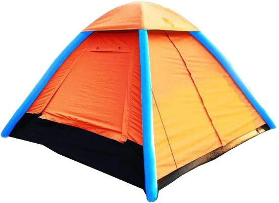 4 Person waterproof Inflatable Tent for Camping Hiking Fishing Beach, Travel, with Air Pump