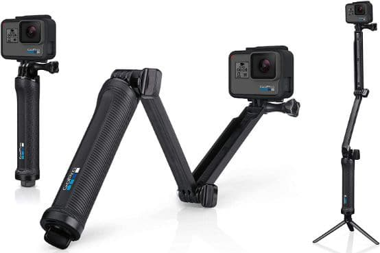 GoPro 3-Way Official Mount Pole, Grip, Tripod, Arm