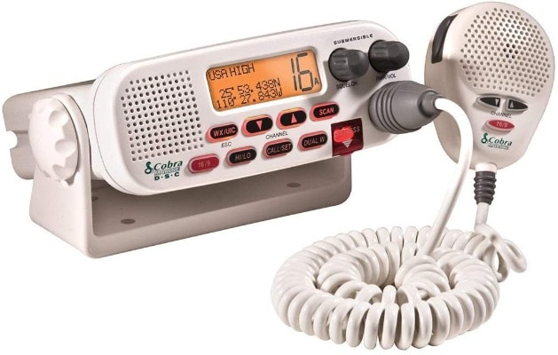 Submersible Marine VHF Radio With Noise Cancelling Microphone