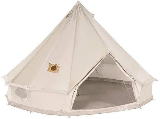 DANCHEL Cotton Bell Outdoor Tent, 4 meters, with Two Stove Jacket