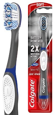 Electric Toothbrush For Braces With Tongue & Cheek Cleaner