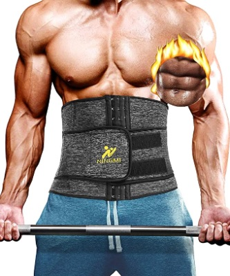 Waist Trainer For Men With Sauna Wrap