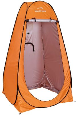 Your Choice Pop up Privacy Tent - Shower Changing Portable Tent Camping Privacy 6.2 FT Tall