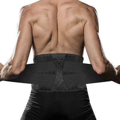 Breathable Waist Trainer For Men With Adjustable Straps