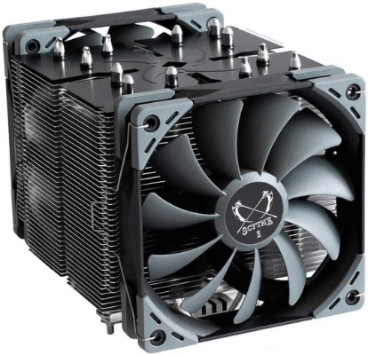 CPU Cooler With Dual Quiet Fans