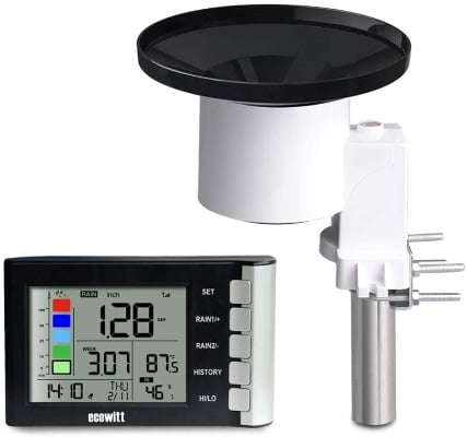 Digital Rain Gauge With High Precision