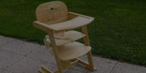 Top 8 Best Wooden High Chairs Of 2021 – Review